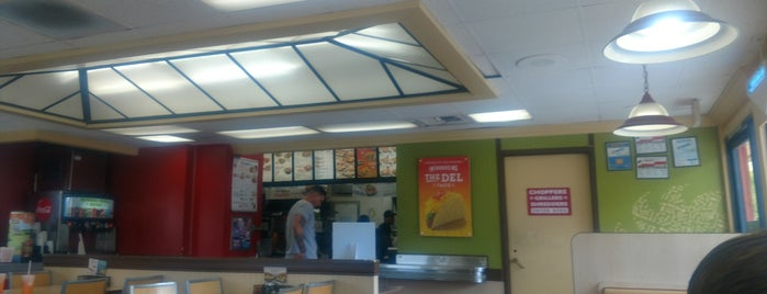 Del Taco is one of My Most Visited Places!.
