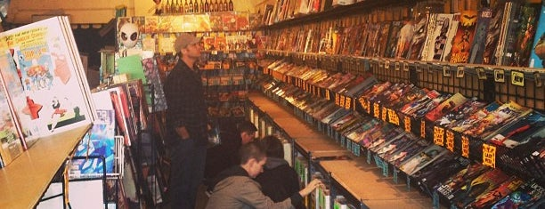 Golden Apple Comics is one of Must at Day :).