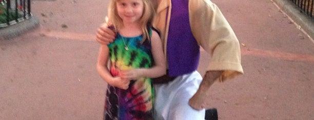 Aladdin and Jasmine Meet and Greet is one of Walt Disney World - Epcot.