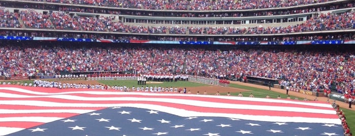 Globe Life Park in Arlington is one of Events To Visit....
