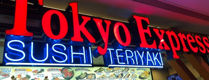 Tokyo Express is one of Favorite places.