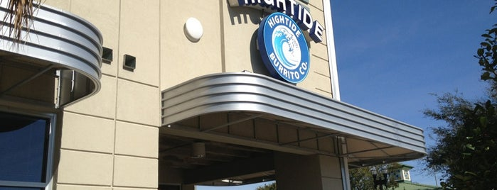 Hightide Burrito Co. is one of Food.