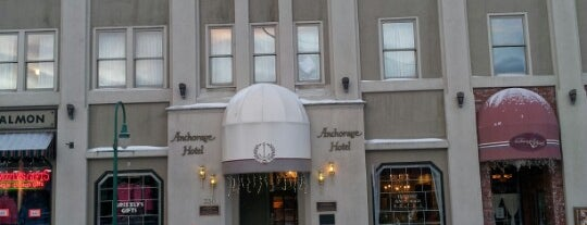 Historic Anchorage Hotel is one of Paranormal Traveler.