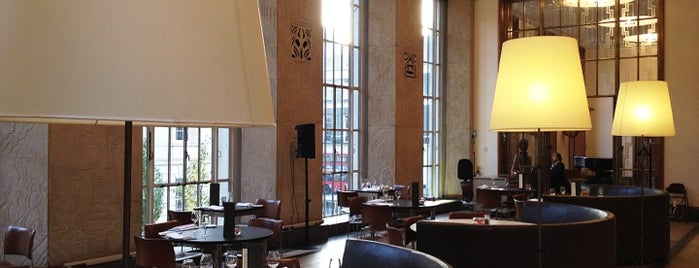 Royal Institute Of British Architects is one of Cafés with Wifi and Plugs.