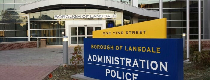 Lansdale Borough Hall is one of frequent places.