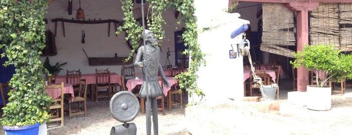 La Venta de Don Quijote is one of comidas.