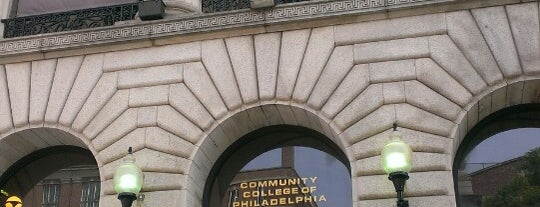 Community College of Philadelphia is one of Favourite Places.