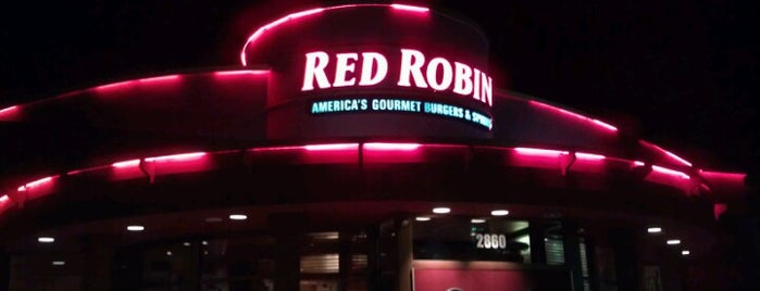 Red Robin Gourmet Burgers is one of All-time favorites in United States.