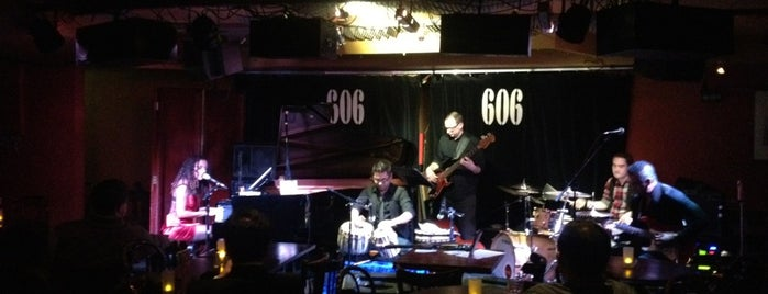 606 Club is one of London todos.