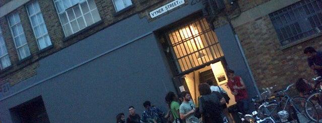 Vyner street gallery is one of London.