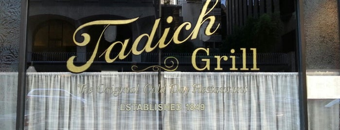 Tadich Grill is one of SF Must Visit.