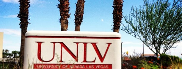 University of Nevada, Las Vegas is one of College Love - Which will we visit Fall 2012.