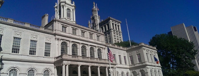 New York City Hall is one of NY.