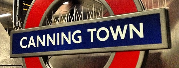 Canning Town London Underground and DLR Station is one of Rail stations.