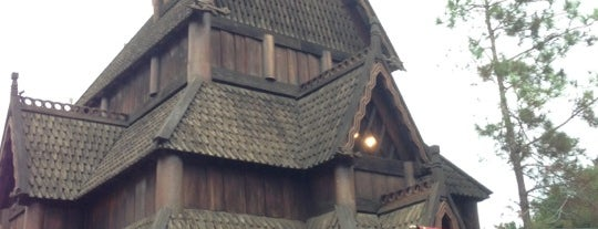 Stave Church is one of Walt Disney World - Epcot.