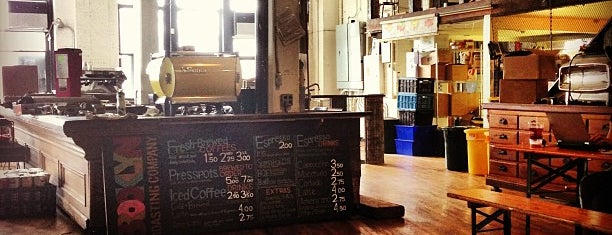 Brooklyn Roasting Company is one of Trendy Coffee.