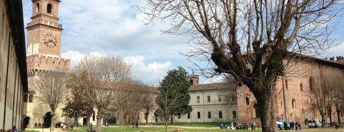 Castello Sforzesco is one of Musei.