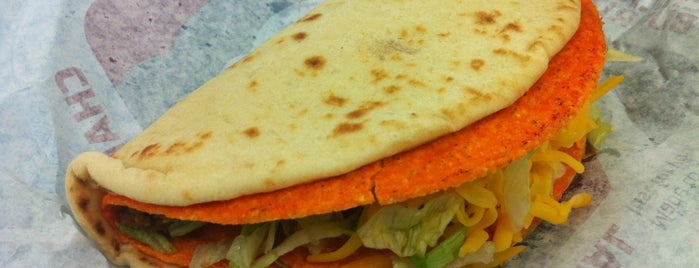 Taco Bell is one of yummy.