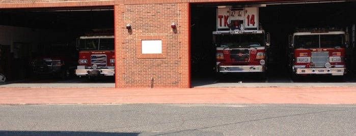 Sharptown Firehouse is one of places.