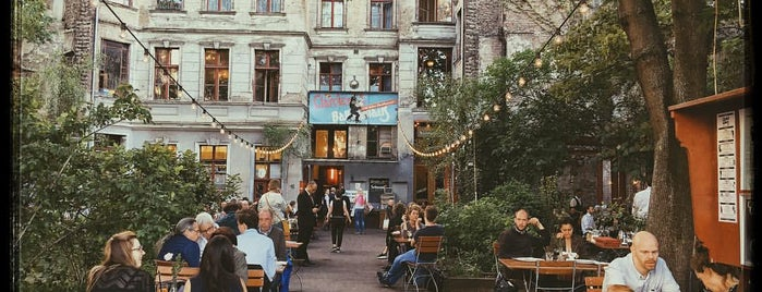 Clärchens Ballhaus is one of Sebastians All-Time-Favorites.