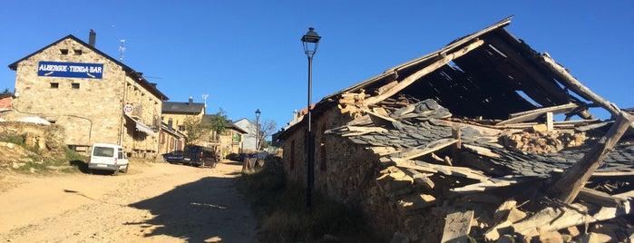 Foncebadon is one of Camino de Santiago.