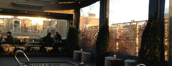 La Piscine at Hôtel Americano is one of Gothamist: 7 Best Rooftop Bars in NYC.