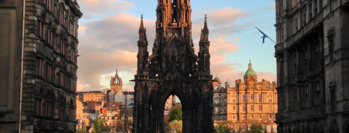 The Scott Monument is one of Scotland.