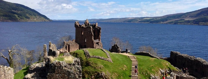 Urquhart Castle is one of Scotland.