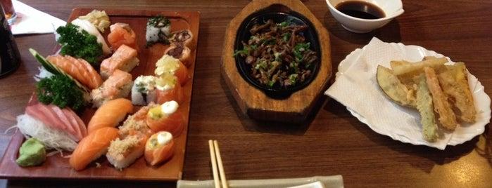 Koban Sushi is one of Henri's TOP Japanese Food.