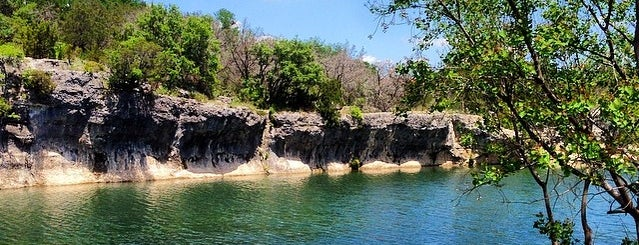 Blue Hole Park is one of Temple....