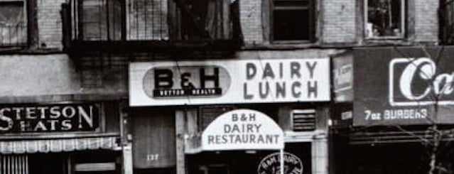 B & H Dairy is one of LES History Month Specials for Foursquare Users.