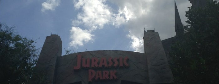 Jurassic Park Discovery Center is one of Universal Studios.