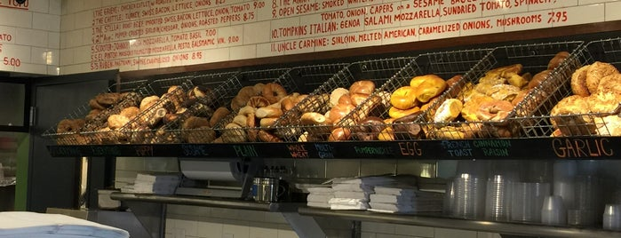 Tompkins Square Bagels is one of Brunch.
