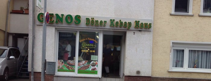 Genos Döner Kebap Haus is one of Türkisch Fast Food.