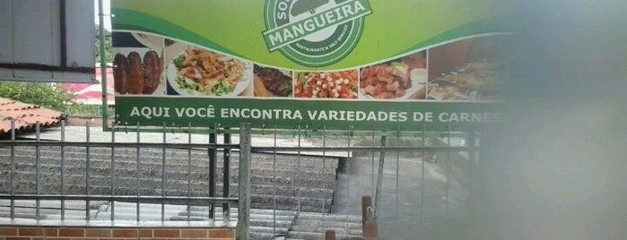 Restaurante E Self-Serviçe Sombra Da Mangueira is one of Meus Lugares.