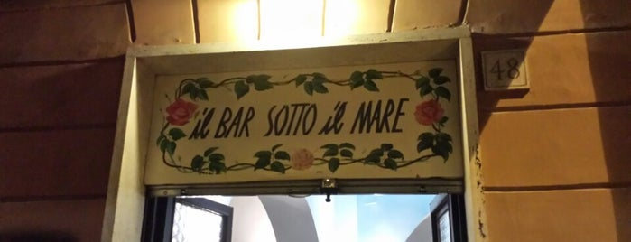 Il Bar sotto il Mare is one of Roma, it.