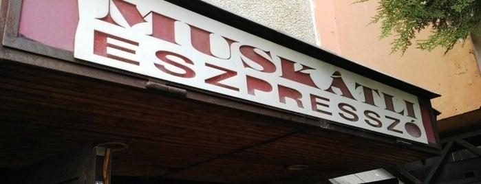 Muskátli presszó is one of Budai hegység/Pilis.