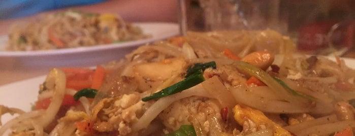 爆 BAO is one of Itaewon food.