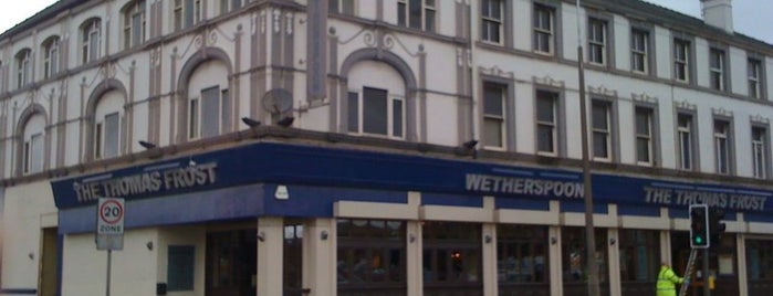 The Thomas Frost (Wetherspoon) is one of Fulham Away Match Pubs.
