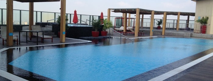 Fairmont Nile City Sky Pool is one of Cairo's Best Spots & Must Do's!.