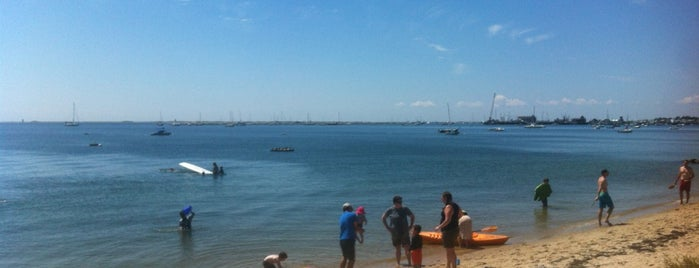 Provincetown Beach is one of Provincetown.