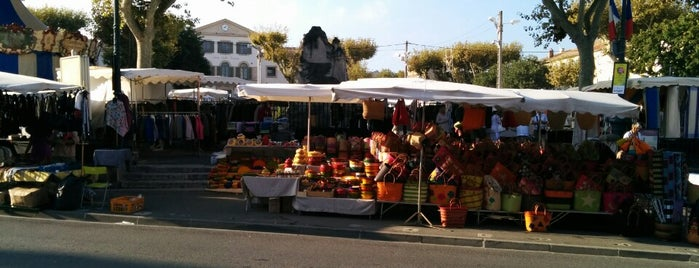 Marché de Saint Remy is one of Fred and Joanne's Europe Trip Fall 2014.