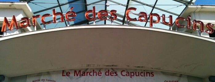 Marché des Capucins is one of Fred and Joanne's Europe Trip Fall 2014.