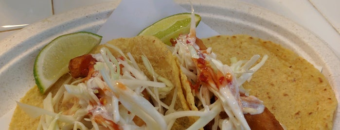 Los Mariscos is one of The 15 Best Places for Shrimp Tacos in New York City.