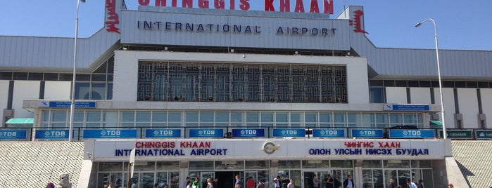 Chinggis Khaan International Airport (ULN) is one of Airports I visited.