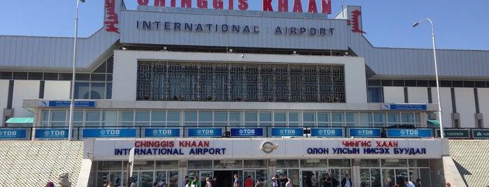 チンギスハーン国際空港 (ULN) is one of World AirPort.