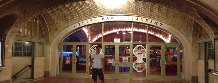 Grand Central Oyster Bar is one of Strange Places and Oddities in NYC.