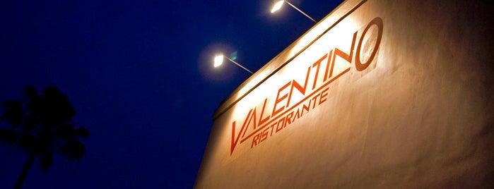 Valentino Italian Restaurant is one of Jonathan Gold 101.