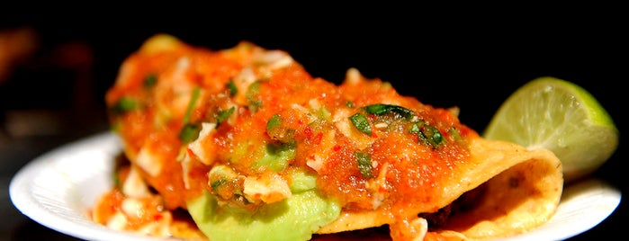 Mariscos Jalisco is one of Jonathan Gold 101.