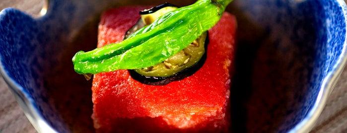 Shunji Japanese Cuisine is one of Jonathan Gold 101.